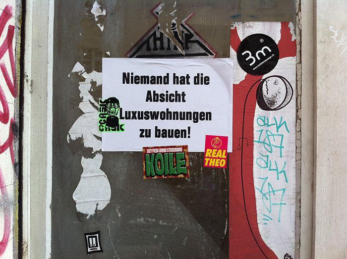 Luxussanierung Berlin Gentrifizierung