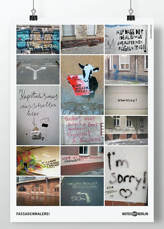 Notes of Berlin Plakat Poster