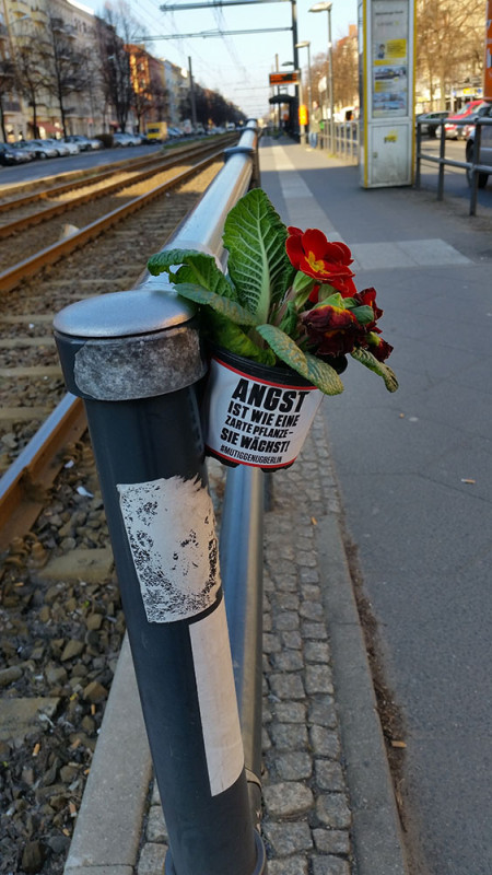 Street Art Berlin Guerilla Gardening