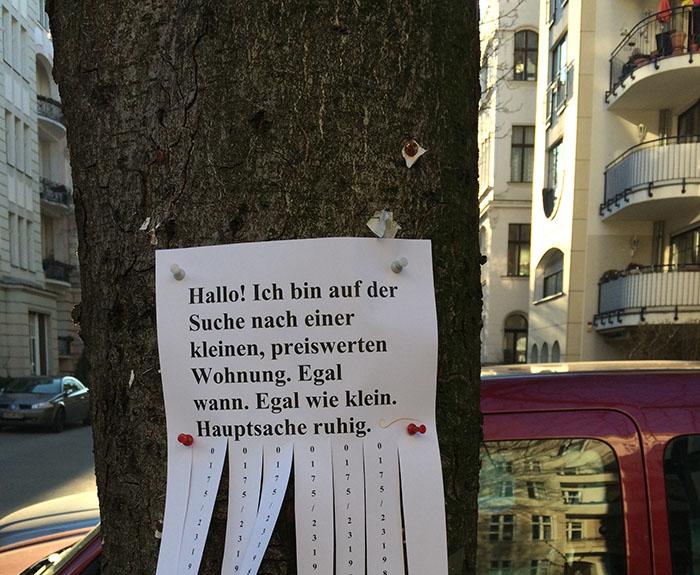 Wohnungssuche Berlin Ruhige Wohnung
