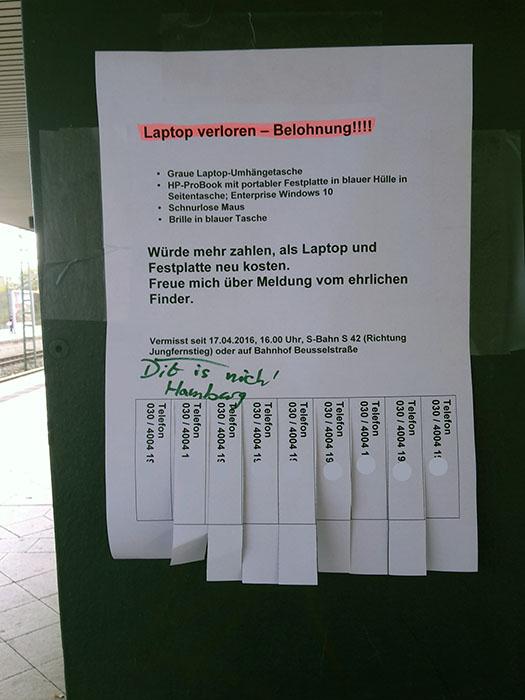 Berlin vs. Hamburg