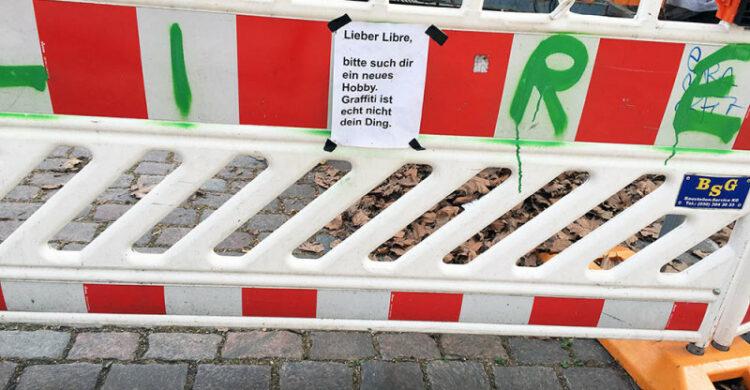 Graffiti Berlin hässlich
