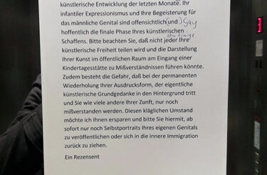 Lustige Zettel aus Berlin Notes of Berlin