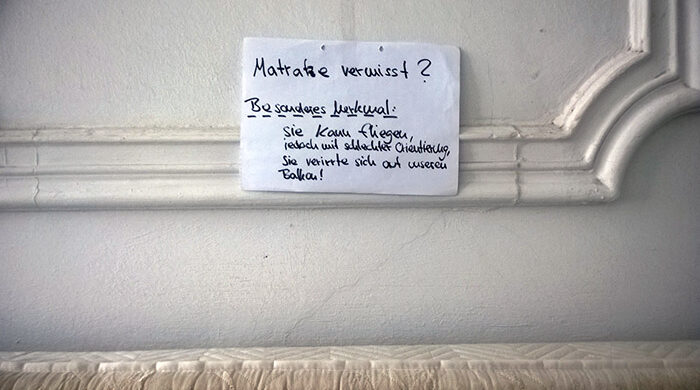 Matratze entsorgen Berlin BSR