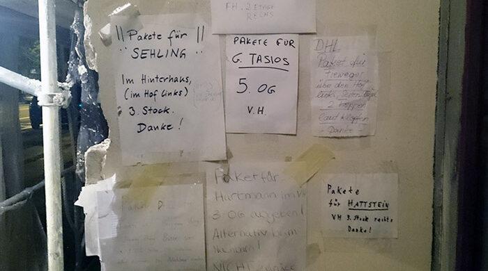 Probleme mit Postboten DHL Berlin
