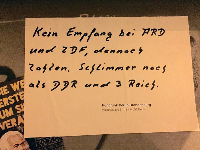 Rundfunkgebühren ARD ZDF zahlen absurd