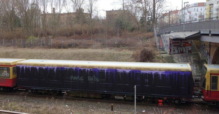 S-Bahn Tribute Prince Graffiti Berlin