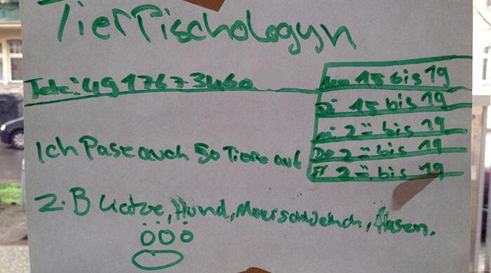 Tierpsychologe Berlin