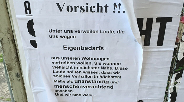 Wohnung Eigenbedarf Berlin