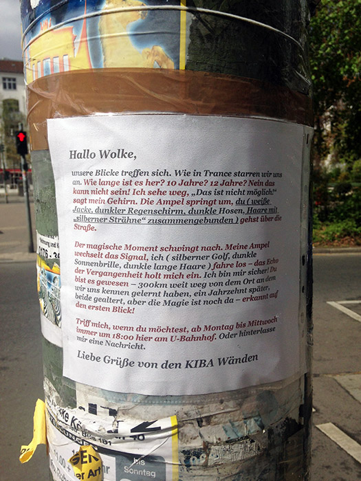 Zettel Blog Notes of Berlin