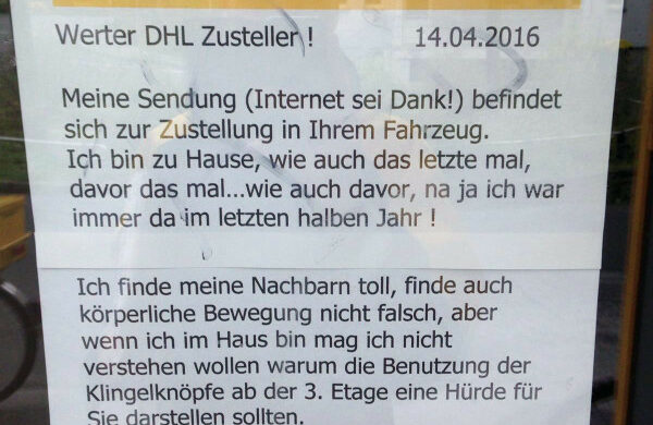 DHL-Berlin-Zustellung-Paket-Probleme