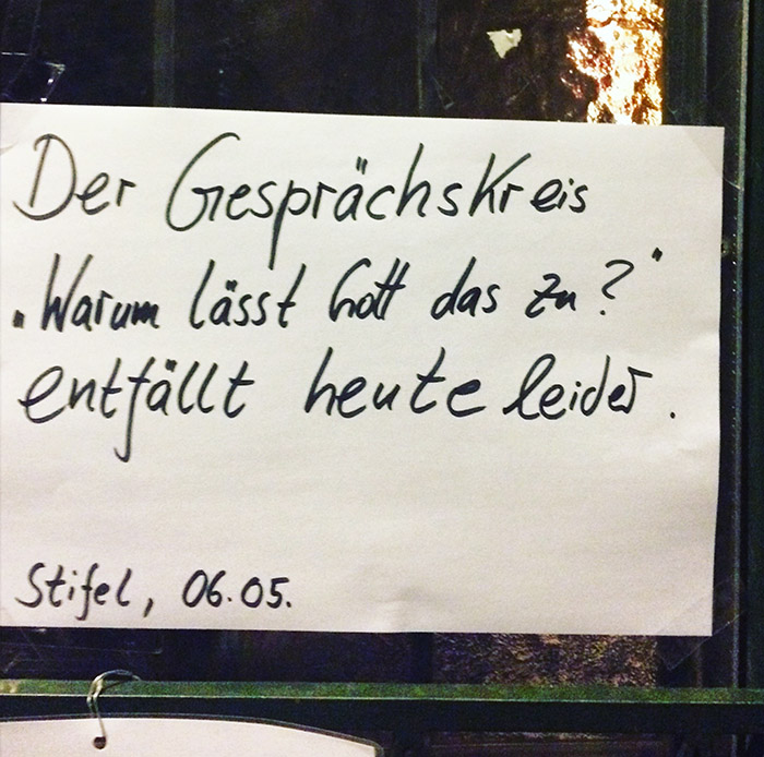 Gott kennenlernen Berlin