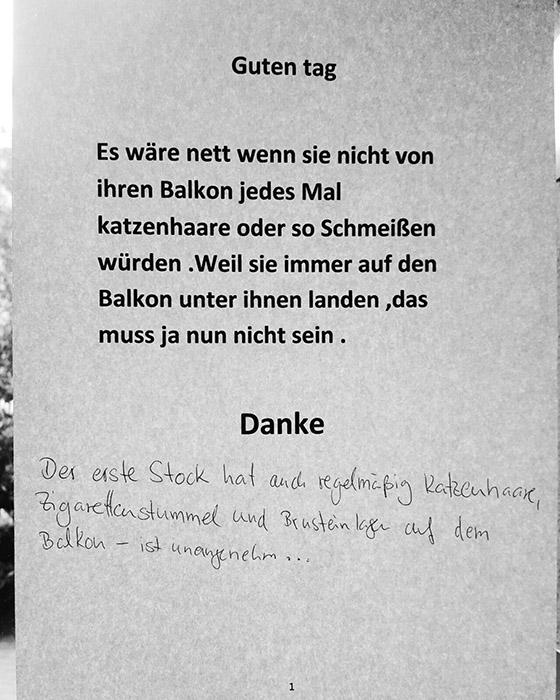 Notes of Berlin lustige Zettel