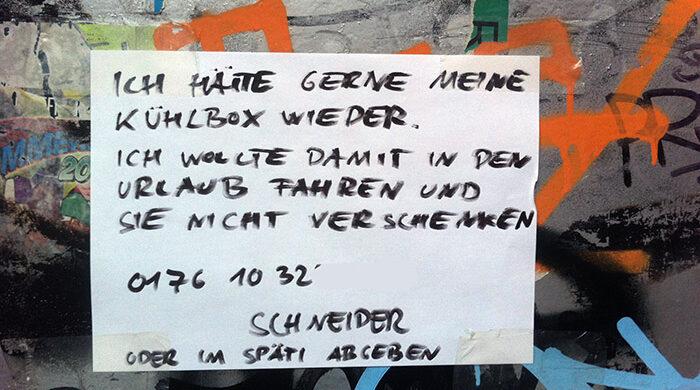 Berlin ist kriminell viele Diebe
