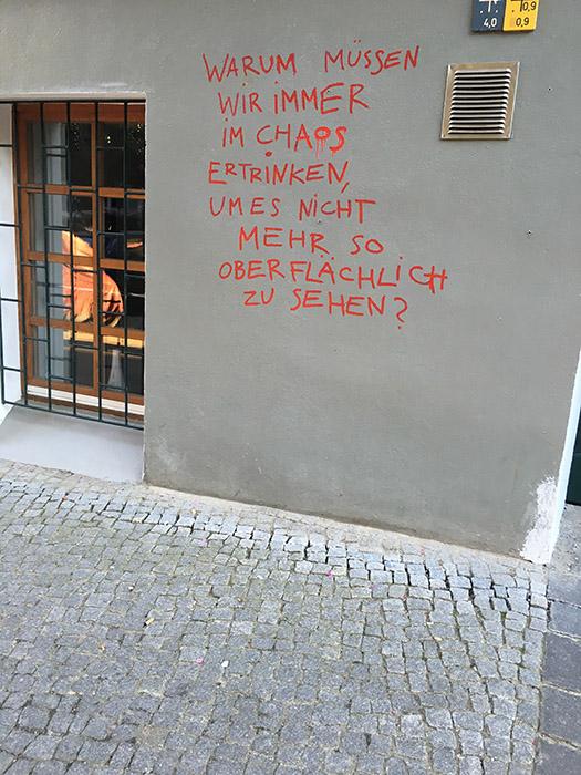 Berliner Sprüche Hauswände