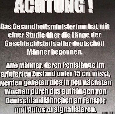 Deutschlandfahne bei Fußball-EM Berlin
