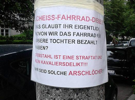 Fahrraddiebstahl Berlin