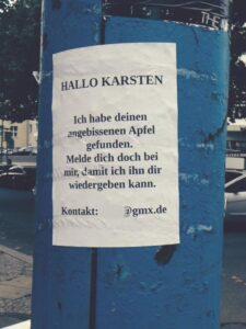 Apfel Karsten Berlin Note