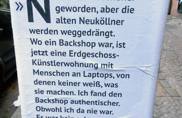 Neukölln Gentrifizierung Berlin