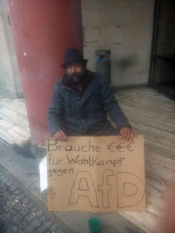 Wahlkampf gegen AfD