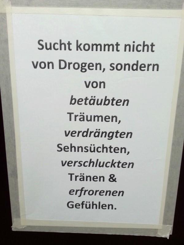 Drogen machen also gar nicht süchtig - NOTES OF BERLIN