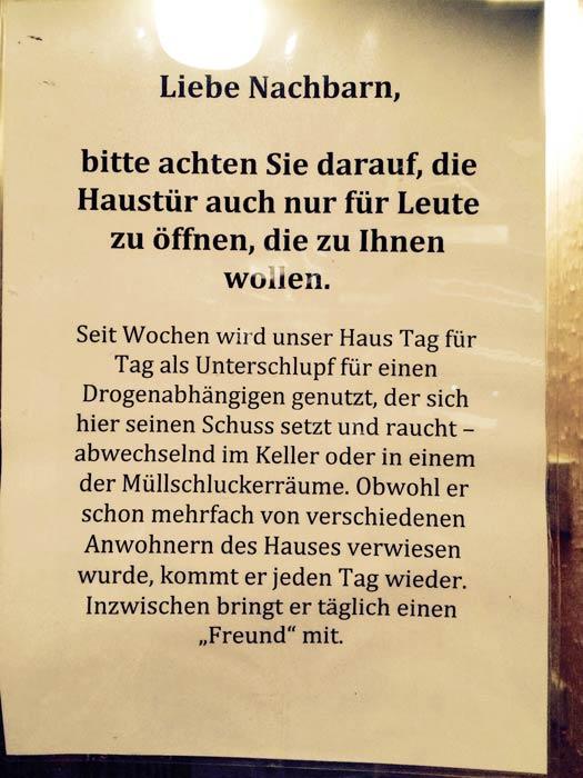 Alltag Treppenhaus Berlin