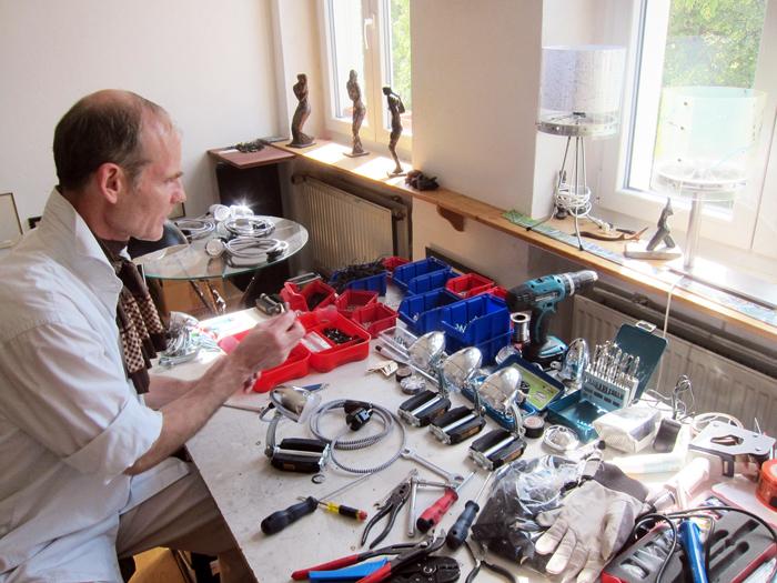 Stuart Werkstatt Lampen Fahrrad
