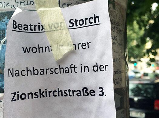 Beatrix von Storch wohnt in Berlin