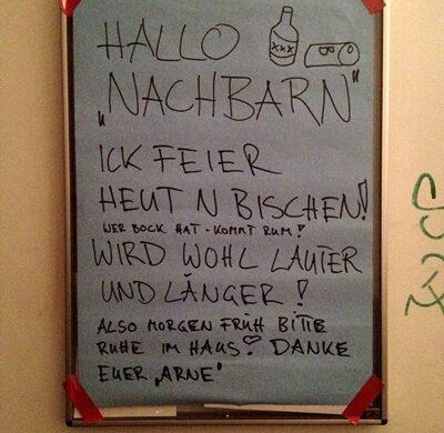 Party machen Berlin