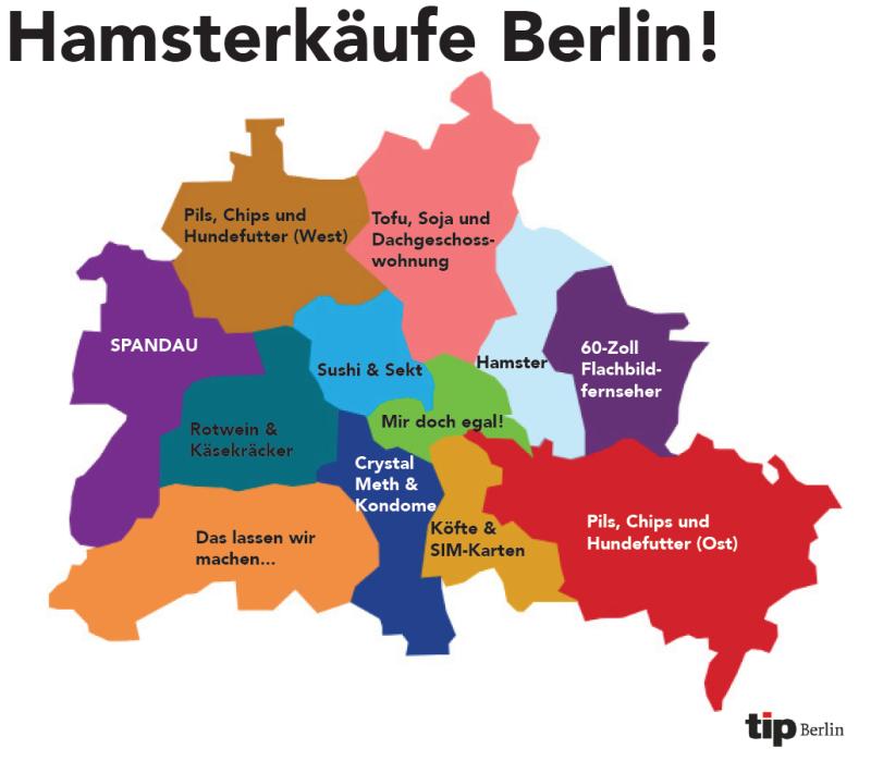 Grafiken zu Berlin