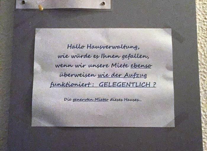 Miete Berlin gelegentlich