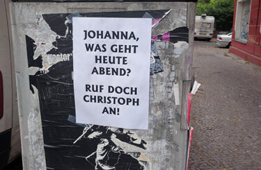 Zettel aus Berlin