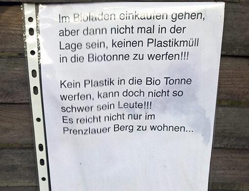 Bio Prenzlauer Berg Gentrifizierung