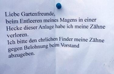 Lustige Zettel aus Berlin
