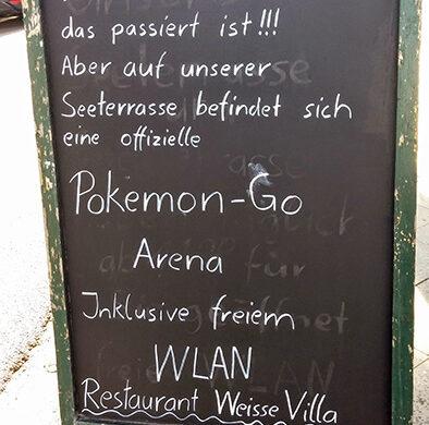 Pokemon Go Berlin Cafe