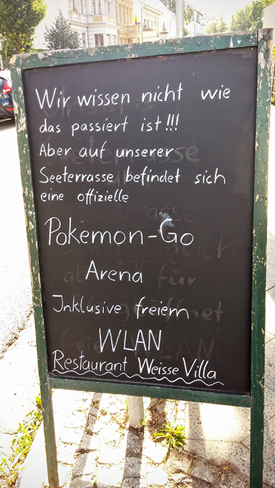 Pokemon Go Berlin Cafe