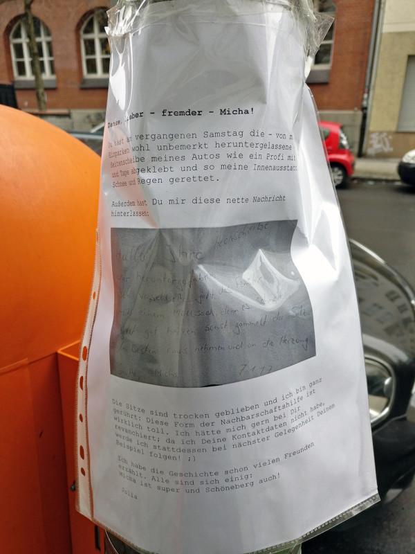 Berliner sind hilfreich