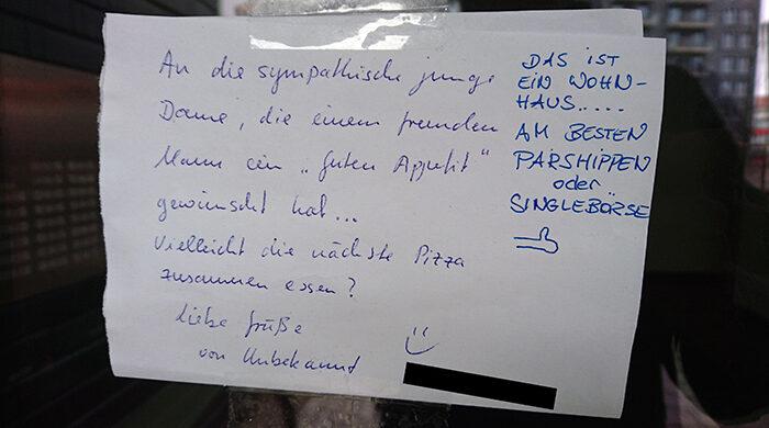 lustige zettel notes of berlin