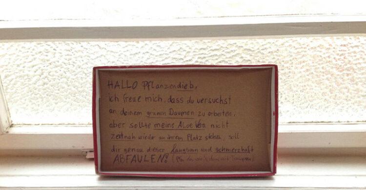Lustige Zettel Berlin