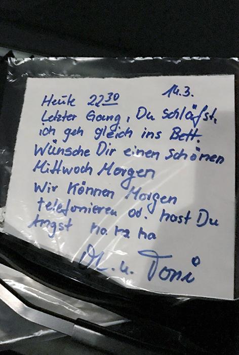 Skurrile Zettel Berlin