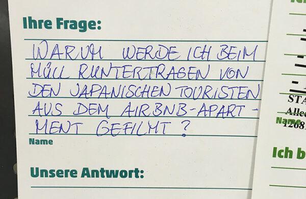 Touris Touristen in Berlin
