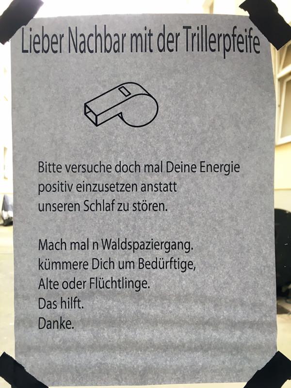 Trillerpfeife Berlin