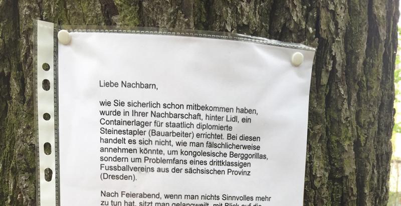 Brief Für Nachbarn Wegen Umzug : Sächsisches provinzdasein in der hauptstadt notes of berlin
