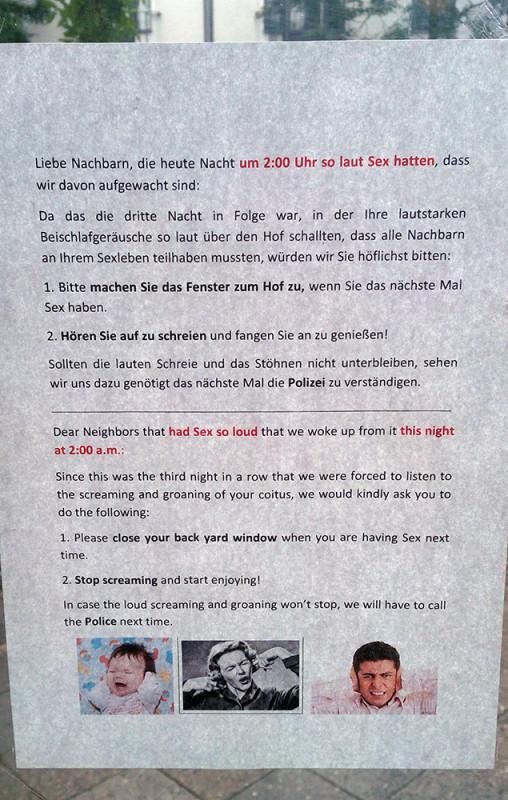 lauter sex nachbarn - NOTES OF BERLIN