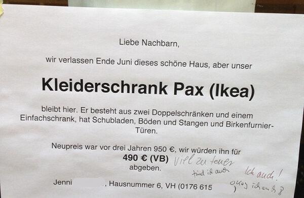 Kleiderschrank Pax Ikea gebraucht