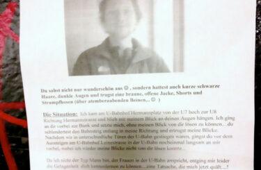 Zettel Liebe Notes of Berlin