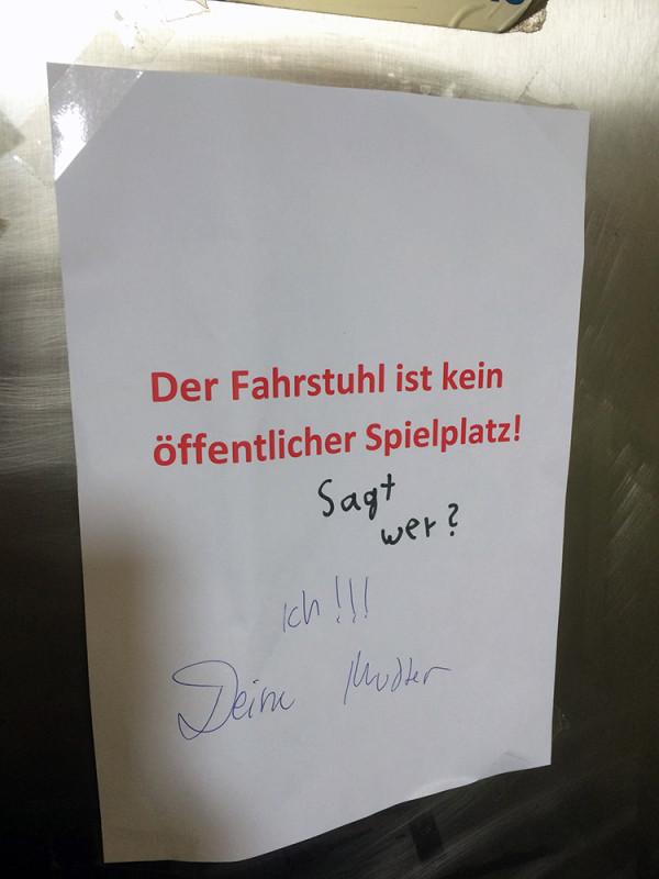 Berliner Schnauze Spruch