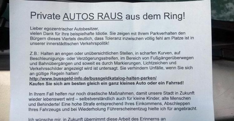 Falschparker Berlin