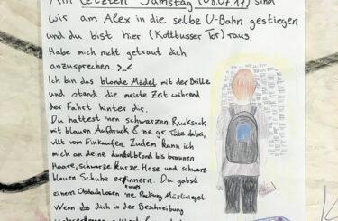 blickkontakt ubahn berlin