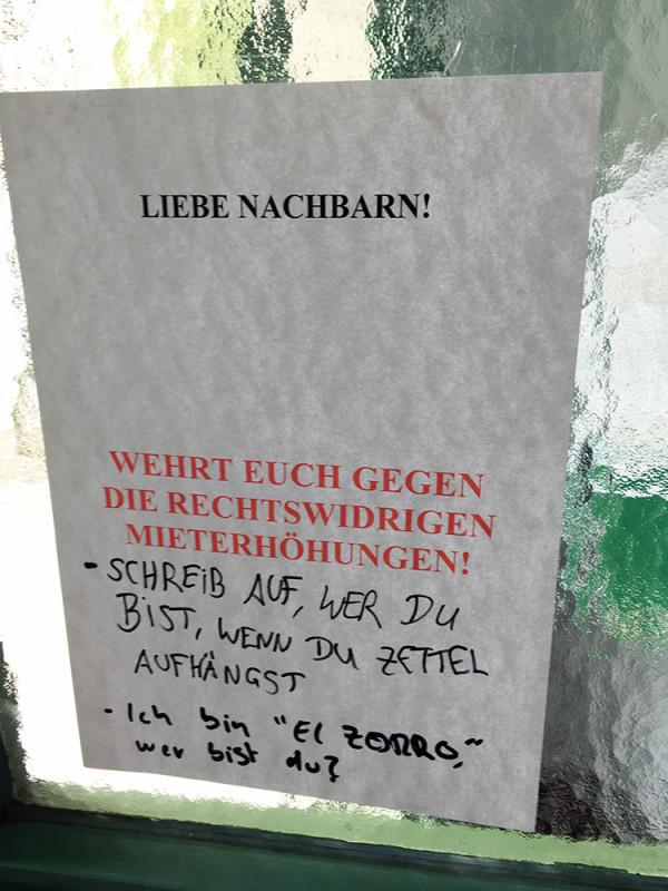 Mieterhöhung Berlin